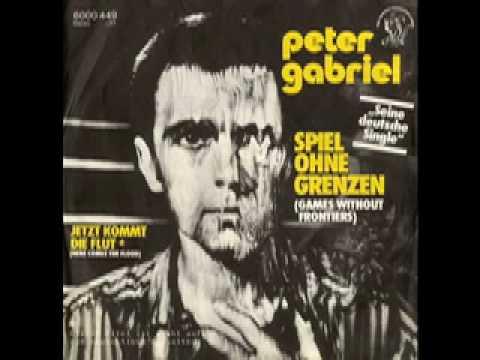 """peter gabriel - """"spiel ohne grenzen"""" (""""games without frontiers"""" - german version)"""
