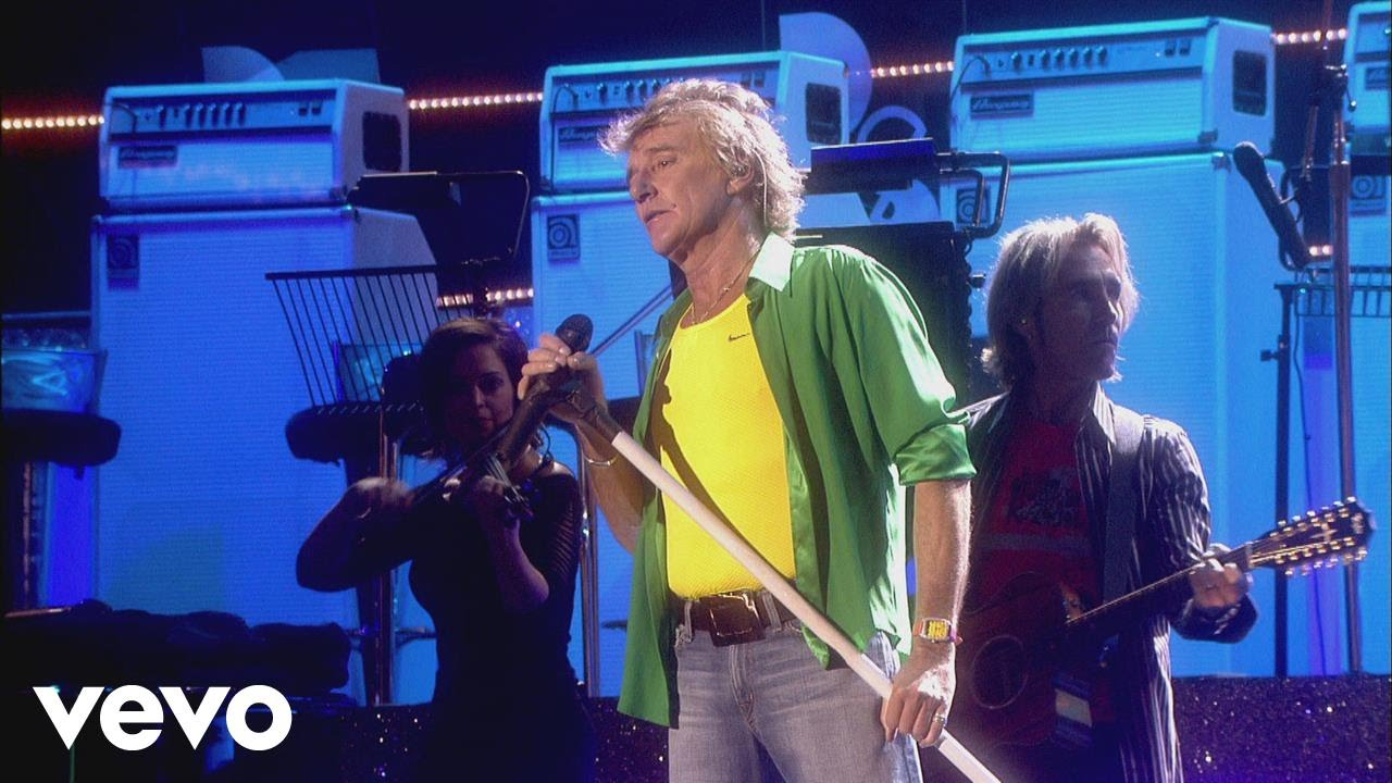 Rod Stewart - The First Cut Is The Deepest (from One Night Only!)