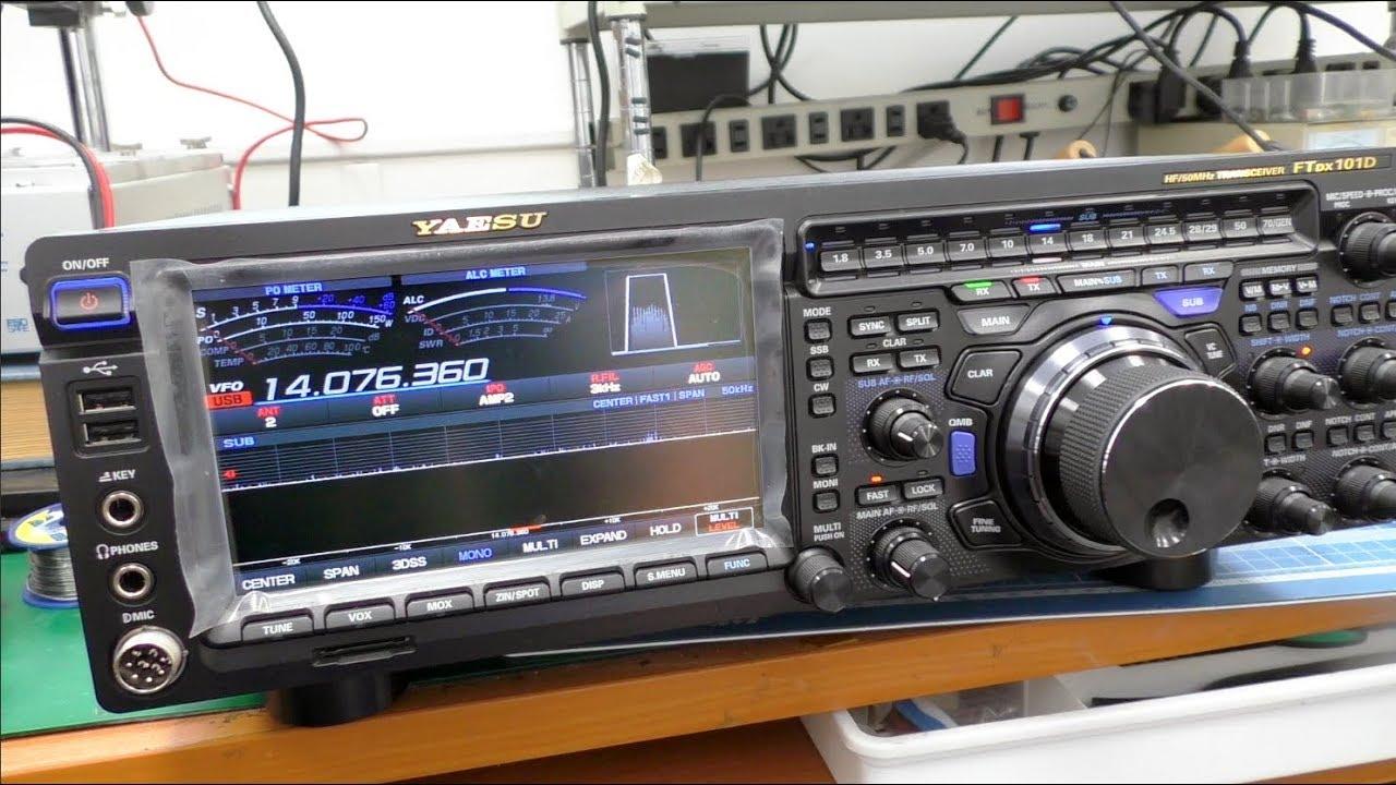 Yaesu FTdx101D Filter einbauen
