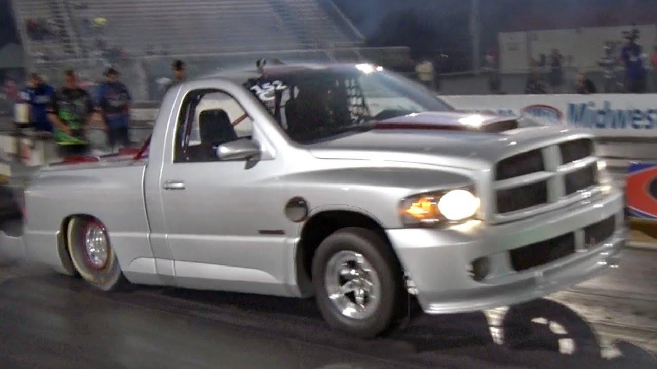 WORLD RECORD - 7 Second SRT-10 Truck!