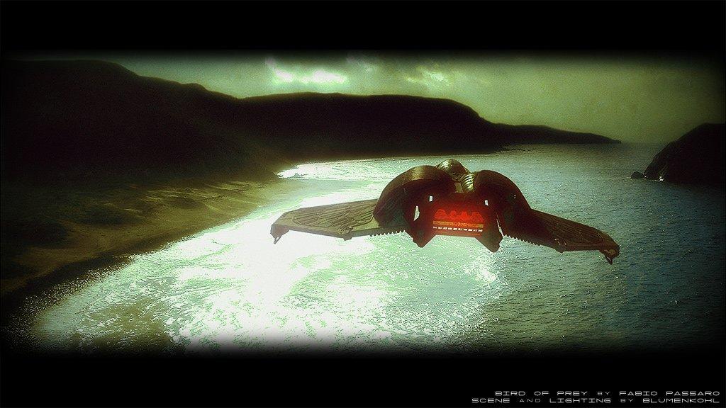 The world of Star Trek- Klingonischer Bird of prey
