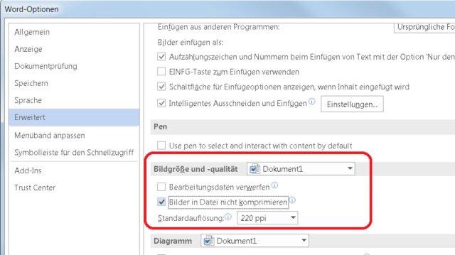 Office_Optionen_Komprimierung