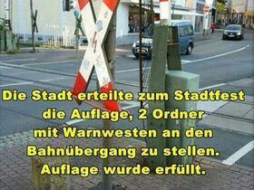 Bahnübergang-Ordner