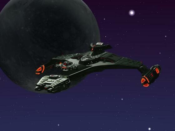 Klingonen Vorcha-Klasse