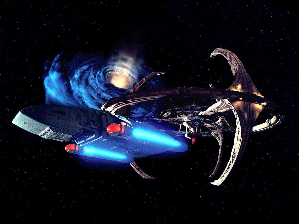 Star Trek - Deep space 9 mit Defiant