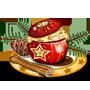 Herrlich duftender Bratapfel