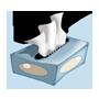 Flauschige Taschentücher