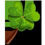 Glücksbringer »Kleeblatt«