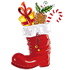 prall gefüllter Nikolaus-Stiefel (nur am 06.12.!)